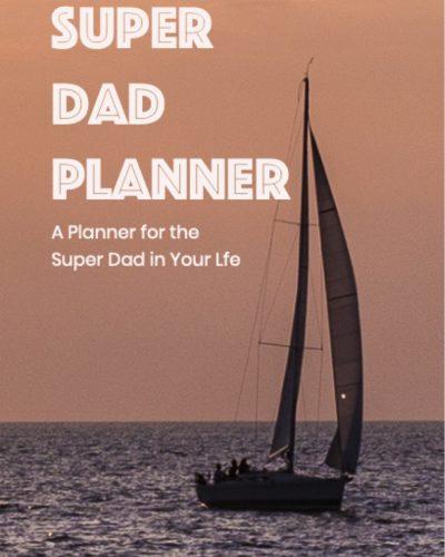 SUPER DAD WEEKLY UNDATED PLANNER
